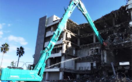 建物の上屋の解体